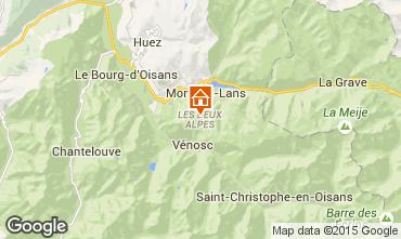 Mappa Les 2 Alpes Monolocale 91147