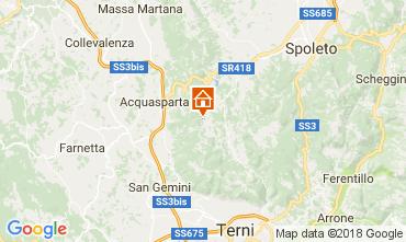 Mappa Spoleto Appartamento 102668