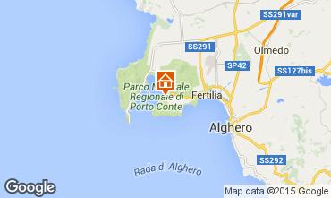 Mappa Alghero Appartamento 78134
