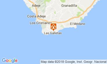 Mappa Costa del Silencio Monolocale 107405