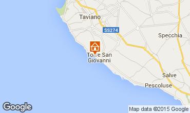 Mappa Ugento - Torre San Giovanni Appartamento 87709