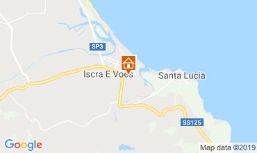 Mappa La Caletta Villa  52185