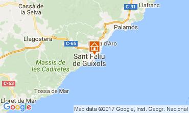 Mappa S'Agaró Appartamento 109160