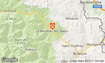 Mappa Serre Chevalier Monolocale 2895