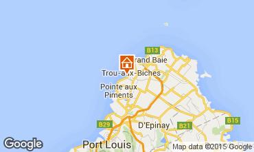 Mappa Trou-aux-biches Bungalow 28556