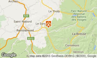Mappa Gérardmer Chalet 4668