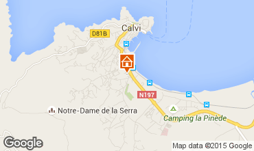 Mappa Calvi Casa 91904