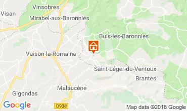 Mappa Vaison la Romaine Casa 115901