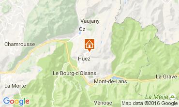 Mappa Alpe d'Huez Monolocale 15933