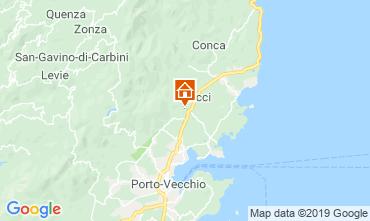 Mappa Porto Vecchio Villa  118150