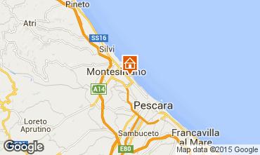 Mappa Montesilvano Marina Monolocale 78015