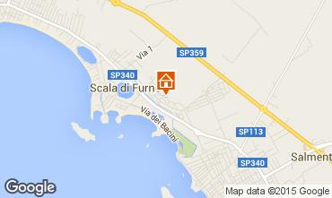 Mappa Porto Cesareo Appartamento 81636