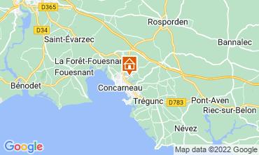 Mappa Concarneau Monolocale 8823