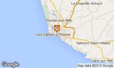 Mappa Les  Sables d'Olonne Appartamento 59909