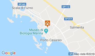 Mappa Porto Cesareo Appartamento 112943