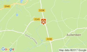 Mappa Wissant Appartamento 110945