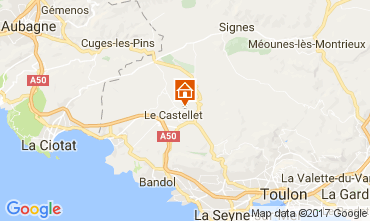 Mappa Le Castellet Villa  92074