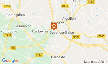 Mappa Nérac Agriturismo 120169