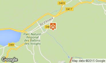 Mappa Gérardmer Monolocale 80469