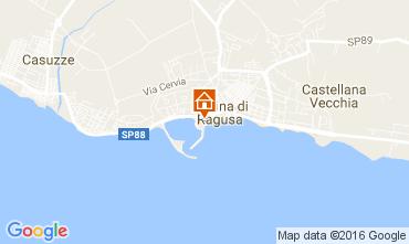 Mappa Marina di Ragusa Appartamento 107241