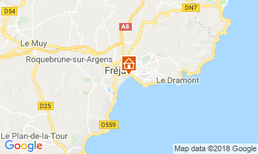 Mappa Fréjus Monolocale 110777