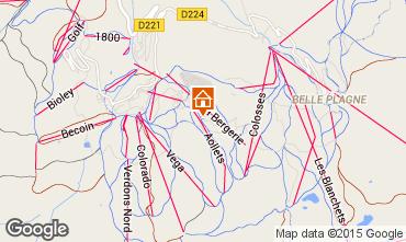 Mappa La Plagne Monolocale 101645