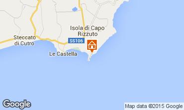 Mappa Isola di Capo Rizzuto Appartamento 68139