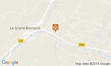 Mappa Le Grand Bornand Appartamento 112885
