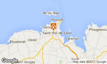 Mappa Saint-Pol-de-Léon Casa 80952