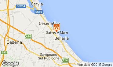 Mappa Gatteo B&B 76978