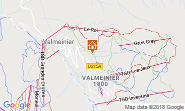 Mappa Valmeinier Chalet 116649