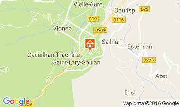 Mappa Saint Lary Soulan Chalet 107164