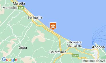 Mappa Senigallia Appartamento 116452