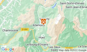 Mappa Alpe d'Huez Chalet 100938