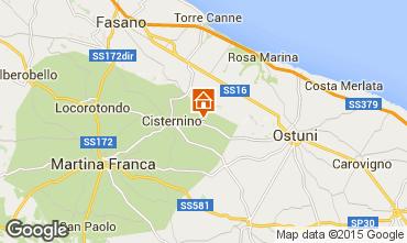 Mappa Cisternino Casa 31698