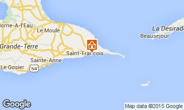 Mappa Saint Francois Monolocale 8975