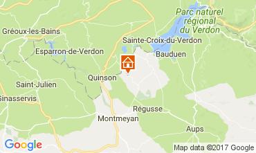 Mappa Artignosc-sur-Verdon Casa 109478