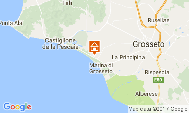 Mappa Castiglione della Pescaia Monolocale 77384