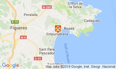 Mappa Empuriabrava Appartamento 112753