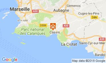 Mappa Cassis Appartamento 112894