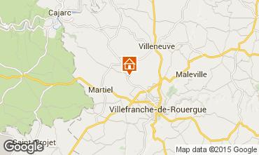 Mappa Villefranche de Rouergue Agriturismo 91089