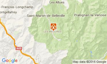 Mappa Les Menuires Monolocale 39459