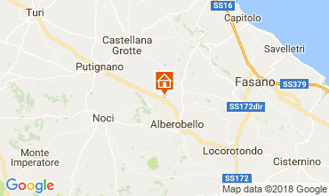 Mappa Alberobello Villa  113922