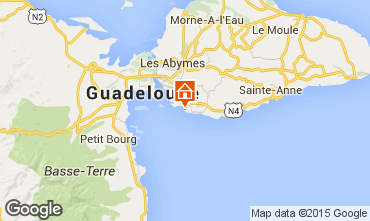Mappa Gosier (Guadalupa) Appartamento 86727