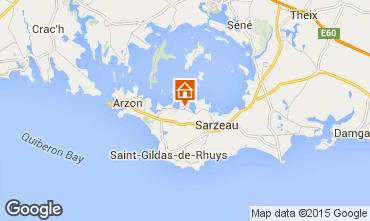 Mappa Sarzeau Casa 95470