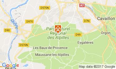 Mappa Saint Rémy de Provence Appartamento 112628