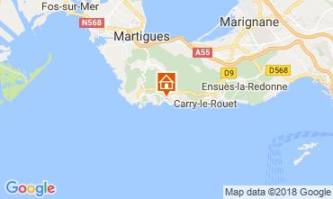 Mappa Sausset Les Pins Villa  115614