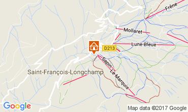 Mappa Saint François Longchamp Chalet 107261