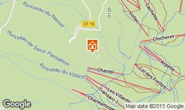 Mappa Les Arcs Monolocale 26873