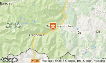 Mappa Saint Lary Soulan Casa 4447